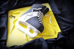 Hockey Skate  Cake by CBD