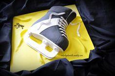 Hockey Skate  Cake by CBD