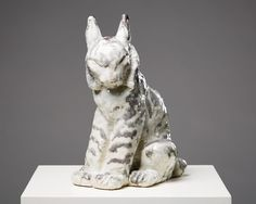 Sculpture Lynx designed by Michael Schilkin for Arabia, — Modernity