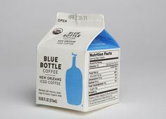 My personal favorite of the show might have been the brand-new New Orleans Iced Coffee, in individual milk cartons, with Blue Bottle coffee ...