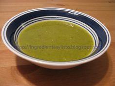 Ingredientes y ¡Listo!: Salsa Verde de Chile con Tomatillo