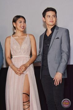 "ThisTimePremiereNight-JaDine-19 - James Reid and Nadine Lustre at the jam-packed ""This Time"" Premiere Night - Push.com.ph"