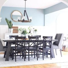 familydinner design regram linkinprofile decor happyhosting wayfairathome If you love hosting family and friends, a large dining table is a must! Our Todd Creek Extendable Dining Table is the perfect fit for @mixandmatchdesigncompany's latest dining room design project. #regram #wayfairathome #happyhosting #familydinner #design #decor #linkinprofile