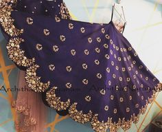 Make your memories more memorable and beautiful in our signature lehangas ! Beautiful lehenga with hand embroidery bead and zardosi work. Indian Attire, Indian Wear, Indian Designer Outfits, Designer Dresses, Indian Dresses, Indian Outfits, Half Saree Lehenga, Anarkali, Bridal Lehenga Collection