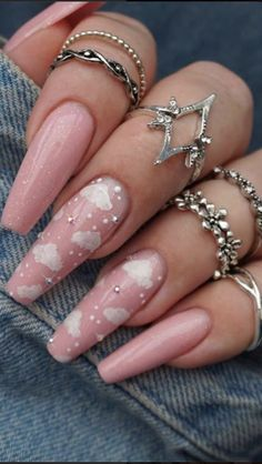 Best Acrylic Nails, Summer Acrylic Nails, Spring Nails, Winter Nails, Summer Nails, Stiletto Nails, Gel Nails, Nail Polish, Manicures