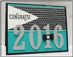Perfect Pairings, Large Number Framelits, Pyramid Pals Thinlets, Graduation, 2016, #stampinup, created by Connie Babbert, www.inkspiredtreasures.com