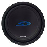 """Alpine SWS-1223D 12"""" Type S Series Subwoofer (2Ω + 2Ω (EA) by Alpine. $110.00. Want great performance from a sub that won't take up that much room? The new Alpine Type-S subwoofers feature a shallow mounting depth design, so you can get tight accurate bass in smaller spaces. An advanced airflow system including a stamped steel basket design with leg venting cooling keeps the bass going while keeping your sub cooler. Round out your system with the Type-S sub, and V-Po..."""