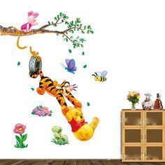 Winnie The Pooh Wall Stickers,Minions Pooh Hello Kitty Mickey And Minnie  Wall Sticker, Part 65