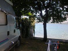 Schitterende, kleine camping direct aan het Iseomeer. Op en top genieten!