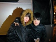 Brendon Urie and Ryan Ross. They we're such good friends. There is no way that they could wish that the other wasn't part of their lives. They just had to move on to further with their careers and what they wanted to do in life.