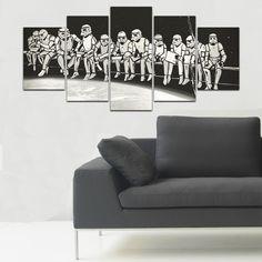 Viacdielny obraz Black&White Clones