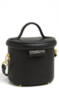 MARC BY MARC JACOBS 'Allegra' Crossbody Bag, reminds one of a hat box, whimsical