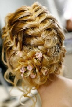 up do hair with ribbons | Prom Updo for 2012 | Best Medium Hairstyle