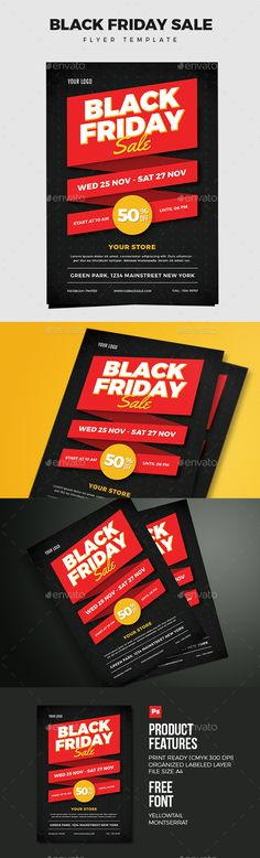 Black Friday Sale 02 — PSD Template #advertisement #black friday • Download ➝ https://graphicriver.net/item/black-friday-sale-02/18375138?ref=pxcr