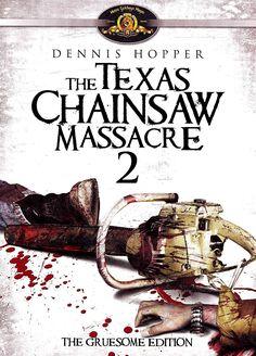 THE TEXAS CHAINSAW MASSACRE PART 2 DVD