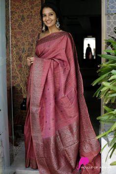 Banaras Sarees, Chanderi Silk Saree, Silk Cotton Sarees, Latest Silk Sarees, Indian Silk Sarees, Indian Beauty Saree, Cotton Saree Designs, Pattu Saree Blouse Designs, Bengali Saree