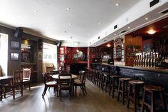Eamonn Doran's on Leeson Street is a beautiful old Dublin pub.