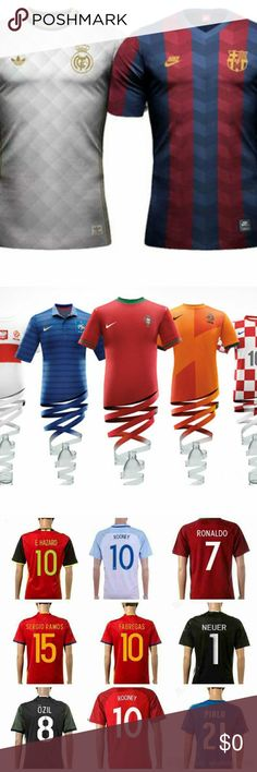 ? WELCOME TO SOCCER JERSEY SHOP ? My name is Roman. I am from New York. I big fan of sport soccer/football. I have a sport store,but I want to offer my product to people that are out of my reach. I sell soccer jerseys for long time. I always get new jerseys as soon as they hit to store. I sell these best jerseys at very low cost. I have customers who bought many jerseys after buying first one. I am well trusted seller .Please if you do not want any of my item please return it and I will…