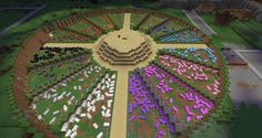 minecraft farm design - Google Search