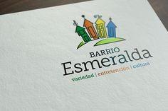 Diseño de imagen de marca para BARRIO ESMERALDA. Programa Barrios Comerciales de Sercotec