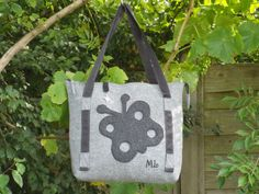 butterfly felt bag - one of my favourites