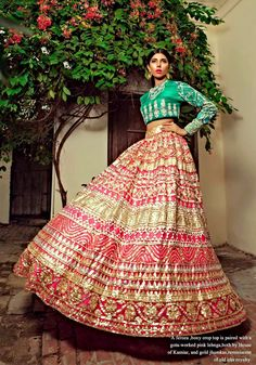 There Goes the Bride, House of Kamiar Rokni. - High Fashion Pakistan