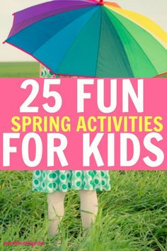 Spring activities for kids!This is a great Spring bucket list for kids! Lots of frugal ideas for activities for families and young children! Easter egg hunts, maple sugar shack, planning flowers and playing outside.