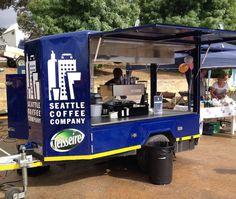Mobile Coffee Cart, Mobile Coffee Shop, Coffee Van, Coffee To Go, Coffee Carts, Coffee Truck, Mobile Shop, Mobile Bar, Coffee Trailer