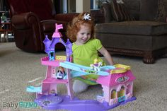 HOT new holiday toy for toddlers! Fisher Price Klip klop Stable