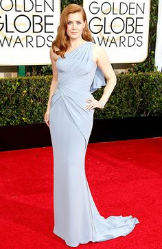 Amy Adams in Versace with Tiffany & Co. jewelry