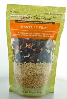 Delicious nutrient-dense replacement to the standard rice pilaf from Garlic Clove Foods in GA.