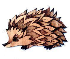 Hedgehog Wood Wall Hanging, Pyrography, Wood burning, hedgehog gift, hedgehog decor, hedgehog art, woodland decor, kids,hedgehog accessories