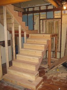 stairs rough