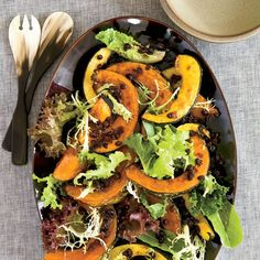 Ginger-Roasted Winter Squash   For winter squash that is crispy on the outside and moist within, Melissa Perello halves each one, roasts it until soft, then cuts it into wedges and roasts it some more.