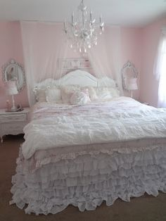 Not So Shabby - Shabby Chic  I love Janae's bedroom! by mmonet