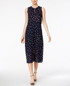 79.50$  Buy now - http://viiwc.justgood.pw/vig/item.php?t=5s68co27746 - Printed Midi Dress, Only at Macy's