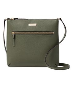 bab6dbe101edf This Evergreen Laurel Way Rima Leather Crossbody Bag is perfect!