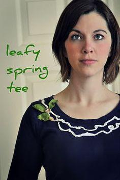 Leafy Spring Tee