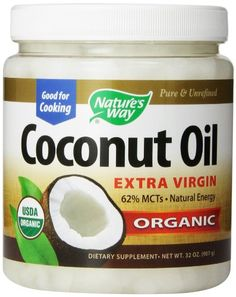 Nature's Way Extra Virgin Organic Coconut Oil, 32-Ounce. This is my favorite coconut oil I use it every day.