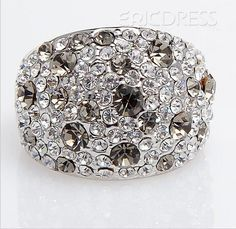$ 14.79 Gorgeous Alloy with Rhinestone Lady's Ring