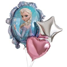 A special #Frozen bouquet of balloons