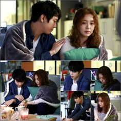 [Spoiler] Yonghwa and Yoon Eun Hye enjoy a midnight office date in 'The Future Choice' still cuts | allkpop