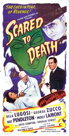 Written by Walter Abbott Directed by Christy Cabanne Starring Bela Lugosi, George Zucco, Nat Pendleton, Molly Lamont US Release Feb. 1, 1947 RT65 min. Home VideoAlpha Video (DVD) Classic Horrors …