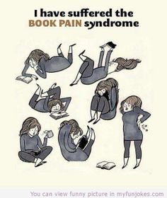Book pain syndrome funny funny  - http://www.myfunjokes.com/other-funny/book-pain-syndrome-funny-funny/