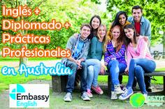 #ProgramaDelDía Embassy English te ofrece como destino #Australia y además ¡un increíble programa! ¡Inglés + Diplomado + Prácticas Profesionales! Si cuentas con un nivel intermedio-avanzado del idioma, y con ganas de superarte este programa es ideal para ti. Solicita tu presupuesto sin compromiso. #EstudiaenAustralia