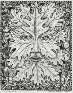 green man coloring pages - photo#16