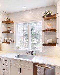 Kitchen Redo, Home Decor Kitchen, Kitchen Interior, New Kitchen, Home Kitchens, Kitchen Dining, Kitchen Ideas, Small Kitchen Inspiration, Condo Kitchen Remodel