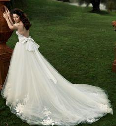 Tal Kahlon backless wedding dress