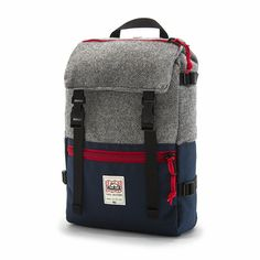 I really like these backpacks Mikey. --- Topo Designs x Woolrich Rover Pack - alaskan twill / navy