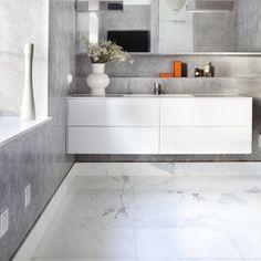 24 stilige nyheter til badet Grey Stuff, Bathroom Interior, Bathroom Ideas, Double Vanity, Room Decor, Furniture, Nouveau Look, Home, Cabins